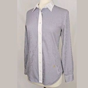 J Crew Nautical Collection Blouse Size Small